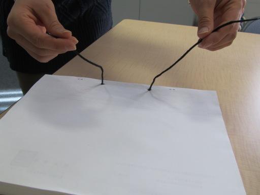 結び方 綴り 紐